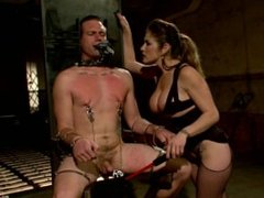 Business Man Learns The Rules Of A Hot Dominatrixs Dungeon - Scene 1