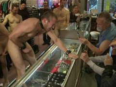 19 Year Old Stud Gets Used And Humiliated In Public - Scene 1