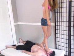 Jenny Jett Tramples Him Brattyfootgirls.com