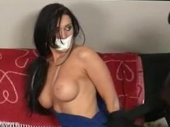 Veronica Ricci bound and tape gagged