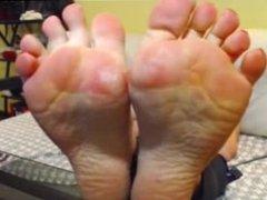 Sexy Cam Girl Feet 1
