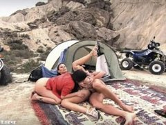 A Threesome in the Wild with Claudia Rossi and Lady Mai