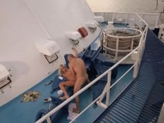 Miss Laura Stumbles upon a Nice Hardcore Fuck Session on the Boat