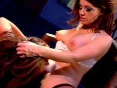 Pornstar Taylor Vixen and her big tit lesbian lover Jayden Jaymes