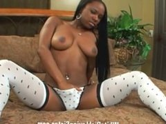 POV Ariel Alexus loves your white dick and sucks it real good
