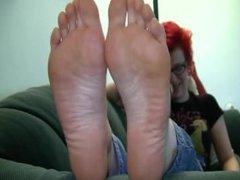 Amazing Punk/Goth Feet