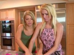 Ally Kay Teaches Victoria White To Use Her Fingers