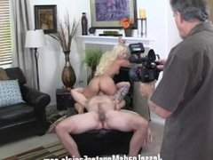 complete behind the scenes of tattoes slut Cali Carter getting sum fat dick
