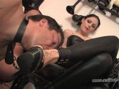 Sweet fetish slave
