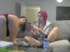 Best Friends Eat Each Other Out & Finger Fuck Each other Anna Bell Peaks