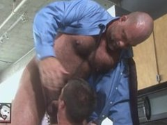Big Daddy Zak Spears Fucks Sexy Boy Ethan on Kitchen Counter