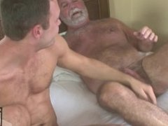 Daddy Bear Jake Shores Fucks Handsome Young Cameron