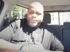 meaty black man meats some meat in his car arby's pornhub official hot cum