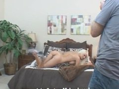 Complete Behind the scenes footage dirty girl Rikki Six gets mouth fucked