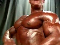 Bodybuilder Art beautiful pecs