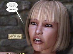 3D Comic_ The Wandering Princess. Episodes 1-2