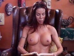 Topless Girls Reading Books Tabitha Stevens reads Baba Booey