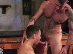 Sexy Daddy Fucks His Boy in The Sex Club