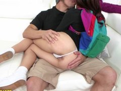 Skipping School To Ride A Cock: Bambino and Vannessa Phoenix