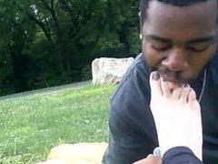 Neighbor's Foot Worship