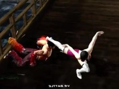 fight femdom in videogame