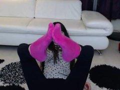 webcam socks tease