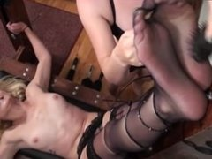 tickling nylon 2