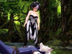 Girl Fart Animation 15