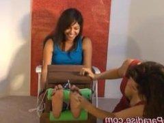 Tickling Paradise - Sabrina tickled by Ashley