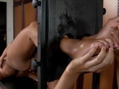 Tickle Submission Victoria - Nacked, tickled and Oiled