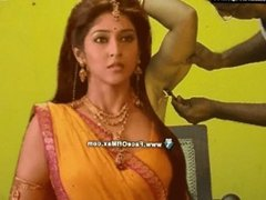 Hairy armpits of Sonam shaved by straight razor by Shamu barber in saloon..