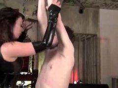 femdom smoke torture