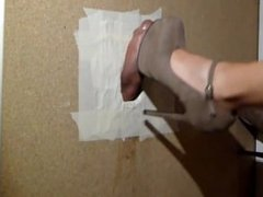 Glory Hole - Heeljob [SexArtCouple]