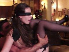 Hotwife Blind folded