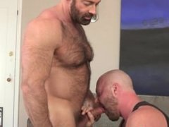 Muscle Bear Brad Kalvo Fucks Furry Cub Josh Thomas
