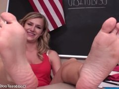 Goddess Dixie Getting out of Detention