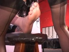 Hot Dom-How a weird toe-fucking cunt-licking fetish photoshoot gets made