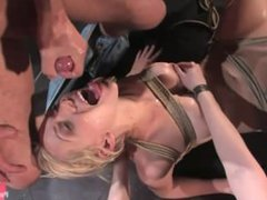 Samantha Sin fucked in front of live audience