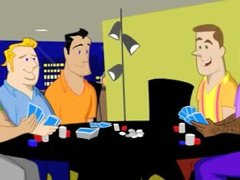A Poker Orgy With Daddy Friends