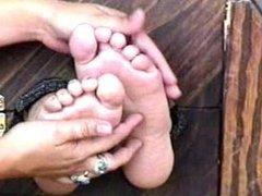 Sonya's Ticklish Feeties