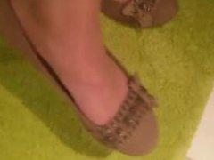 Lisa´s Feet in Ballerinas