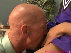 tranny cheerleader face sitting and ass fucking with Nody Nadia