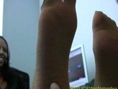 nylon feet sniffing worship