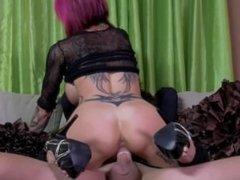 Stripper whore Anna Bell Peaks gets an offer she cant refuse and fucks