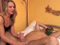 Diaper handjob prostate massage