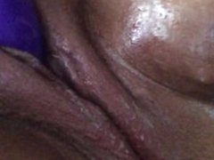 Lonely virgin playing with her dripping wet pierced pussy