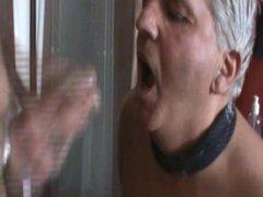 swallowing a cumshot