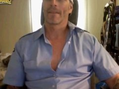 Burnaby FireFighter Jerkoff on cam