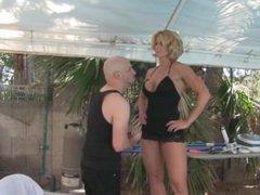 goddess rapture dominates and humiliates short camera man