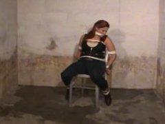 Vivian Ireene Pierce Tied to a Chair